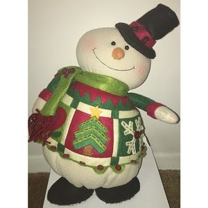 Snowman Plush Shelf Sitter